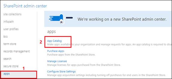 Apps Configuration