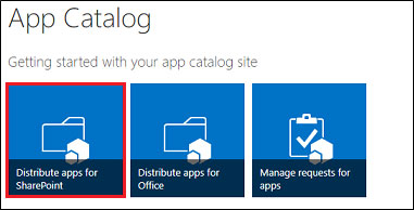 Getting Start with App Catalog